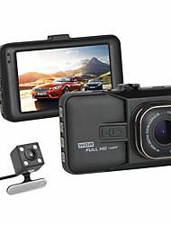 מכונת DVR daul מצלמת מקף מצלמת Full HD זווית רחבה אינפרא אדום לראיית לילה 170 מעלות g-senser לולאת מקליט חניה במצב וידאו registrator FHD