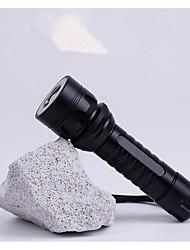 Lanternas de Mão Lumens Modo Cree T6 18650.0 AAA Foco Ajustável RecarregávelCampismo / Escursão / Espeleologismo Uso Diário Ciclismo Caça