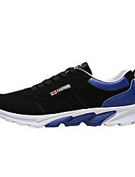 Spor Ayakkabısı-Rahat-Rahat-Kumaş-Düz Topuk-Beyaz Kırmzı Mavi-Erkek