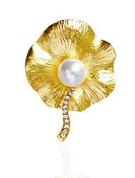 Dámské Brože Imitace perly imitace drahokamuZákladní design Jedinečný design příroda přátelství Napodobenina perel Módní Retro