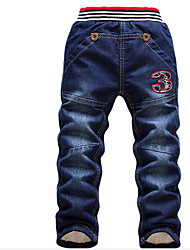 Boys' Casual/Daily Solid Pants-Cotton Winter