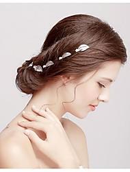 סגסוגת כיסוי ראש-חתונה אירוע מיוחד קז'ואל פרחים קליפס לשיער סיכת שיער כלי לשיער 6 חלקים
