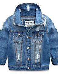 Children's Casual/Daily Solid Suit & Blazer,Others Spring Fall Long Sleeve
