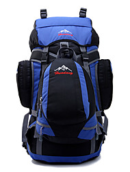 55 L Backpack Hiking & Backpacking Pack Camping & Hiking Climbing Multifunctional Others