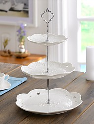 Ceramic 3Tier Cake Stand / Cake Tower / Cake Dishware Beter Gifts® Party Supplies