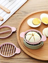 1 Pças. Chalota Cebola Cortador e Fatiador For para ovos Para utensílios de cozinha Plástico Ecológico Gadget de Cozinha Criativa
