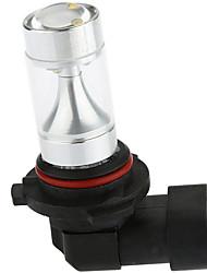 Sencart 2ks 9006 hb4 p22d 8x3535smd led bílá / červená / žlutá konverzní sada světlometů žárovky ac / dc9-30v