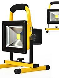Kawell 20w זרקורים אורות עבודה waterproof בחוץ קמפינג אורות אבטחה Built-in נטענת ליתיום batteriesdaylight לבן 6000k