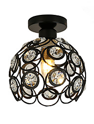 Max 60W Modern Crystal / Mini Style Painting Metal Flush MountLiving Room / Bedroom / Dining Room / Kitchen