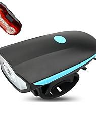 Světla na kolo Přední světlo na kolo Zadní světlo na kolo LED Cyklistika Stmívatelná Voděodolný Dobíjecí Snadnépřenášení Batterie lithium