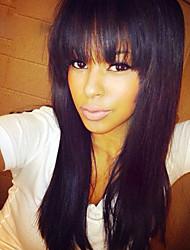 peruanske jomfrue rett hår full blonder parykker med front store smell 100% full blonder menneskelig hår parykker for svarte kvinner