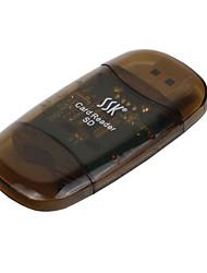 SSK SD karta USB 2.0 Čtečka paměťových karet
