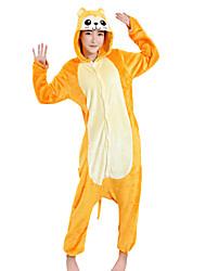 Kigurumi פיג'מות קוף פסטיבל/חג הלבשת בעלי חיים Halloween טלאים מינק הקטיפה Kigurumi ל יוניסקס נקבה זכרהאלווין (ליל כל הקדושים) חג המולד