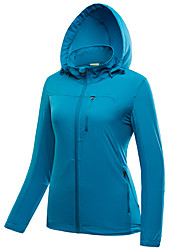 Dámské sako Dámská bunda Vrchní část oděvu Outdoor a turistika Lov Lezení TuristikaVoděodolný Prodyšné Rychleschnoucí Větruvzdorné Odolné