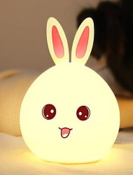 Colorful Silicone Atmosphere Induction Light LED Nightlight