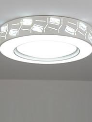 Montagem do Fluxo ,  Contemprâneo Pintura Característica for LED MetalSala de Estar Quarto Sala de Jantar Cozinha Quarto de