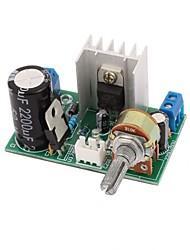 Lm317 צלחת לוח אספקת חשמל עם הגנה 1.25v-37v 1.5a מתכוונן מתכווננת dc מתח הרגולטור