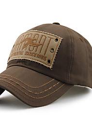 Unisex Women Men's Cotton Baseball/Peaked Cap Sun Hat Vintage Casual Rivet Embroidery Outdoors Sports Summer All Seasons Grey/Blue/Beige/Brown/Black