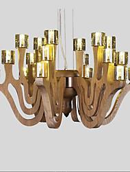 Montage du flux ,  Contemporain Rétro Bois Fonctionnalité for LED Bois/BambouSalle de séjour Chambre à coucher Salle à manger