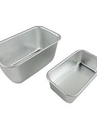 Two pieces /set Big size & medium size Toast cake pan non stick cake mould food grade carbon steel FDA