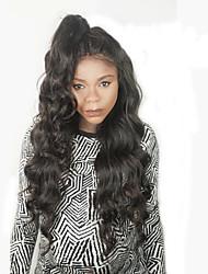 천연 헤어 라인 레이스 프런트 가발 판매를위한 아프리카 계 미국인 아기 머리 브라질 처녀 사람의 모발 깊은 바디 웨이브 레이스 프런트 인간의 머리 가발