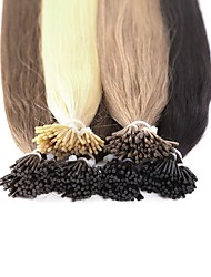 Neitsi High Quality 28'' 25g/lot 1g/s I Tip Hair Extensions 100% Straight Remy Human Hair