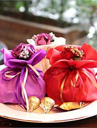 12 Peça/Conjunto Suportes para Lembrancinhas-Almofadado Seda Caixas de Presente não-personalizado