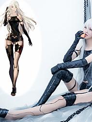 Inspirovaný Cosplay Cosplay Video Hra Cosplay kostýmy Cosplay šaty Bez rukávů
