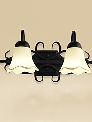 e14 caractéristique rustique / loge électrolytiquement pour la lumière d'éclairage de mur de salle de bains de lumière ledambient