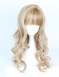 Lolita Wigs Sweet Lolita Color Gradient Curly Lolita Wig 70-80 CM Cosplay Wigs Wig For