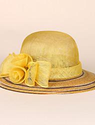 바구니 세공품 플랙스 투구-웨딩 특별한날 캐쥬얼 사무실 & 직업 모자 1개