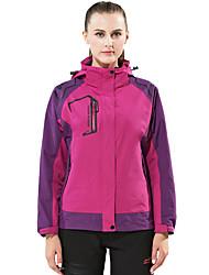 Dámské Bundy 3 v 1 Dámská bunda Zimní bunda Lyže Outdoor a turistika Lov Sněhové sporty SnowboardVoděodolný Prodyšné Zahřívací