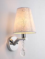 E14 país moderno / contemporáneo electrochapado característica de la pared de luz apliques apliques de pared