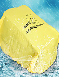 Moto Capa para Selim/Almofada Ciclismo de Lazer Amarelo Plástico PVC