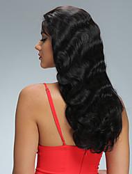 גוף גל פאות שיער מלאה glueless תחרת אדם עם שיער אדם קדמי תחרה מלאה 8-26inch שיער אדם בתול ברזילאי שיער תינוק פאות שיער טבעי