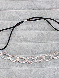 Alloy Headpiece-Wedding Special Occasion Casual Outdoor Headbands Head Chain Hair Tool 1 Piece