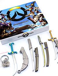 Více doplňků Inspirovaný Overwatch Akatsuki Anime a Videohry Cosplay Doplňky Náhrdelníky Více doplňků postava Stop