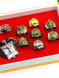 Mer accessoarer Inspirerad av Cosplay Son Goku Animé Cosplay-tillbehör Halsband Ring Legering