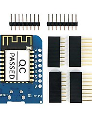 Esp8266 esp-12f d1 מיני Wi-Fi פיתוח לוח מודול שמיש עבור arduino w w / ch340g הנהג
