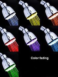Současné Dešťová sprcha Pochromovaný vlastnost for  LED Déšť Šetrný vůči životnímu prostředí , Sprchová hlavice