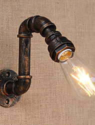 AC 110-130 AC 220-240 40 E26/E27 Country Retro Painting Feature for Mini Style Swing Arm Bulb Included,Ambient Light Wall SconcesWall