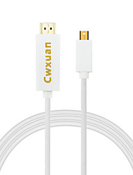 Cwxuan® mini displayport dp na hdmi adaptér 1080p hdtv pro macbook