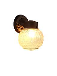 Moderne / moderne sort oxid finish funktion til mini stilambient lys væg sconces væg lys