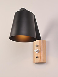 AC 220-240 E27 Modern/Contemporary Country Black Oxide Finish Feature for LEDDownlight Wall Sconces Wall Light