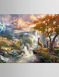Giclee Print Kuuluisa Classic Pastoraali,1 paneeli Kanvas Vaakasuora Tulosta Art Wall Decor For Kodinsisustus