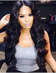 150% tiheys täynnä pitsiä peruukki kehon aalto 100% Brasilian neitsyt hiukset täynnä pitsi hiuksista peruukit kaunis nainen vauvan hiukset