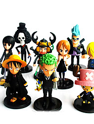 Anime Actionfigurer Inspirerad av One Piece Tony Tony Chopper PVC 9-6.5 CM Modell Leksaker Dockleksak