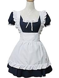Austattungen Niedlich Lolita Cosplay Lolita Kleider Kurzarm Kurz / Mini Für