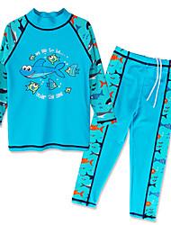 Unisex Animal Print Animal Print Swimwear,Polyester Nylon