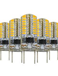 3W G8 LED Bi-Pin lamput T 64 SMD 3014 200-300 lm Lämmin valkoinen Himmennettävä Koristeltu V 5 kpl